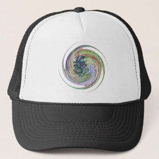 abstract pattern design products trucker hat
