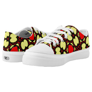 Abstract pattern different unique art low tops