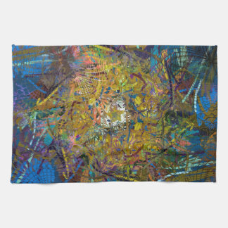 Abstract Pattern Glass Effect Kitchen Towel