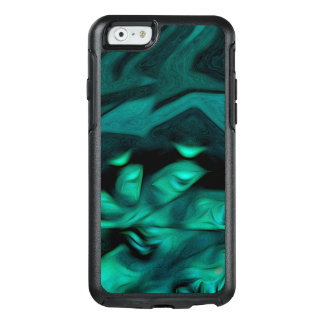 Abstract Pattern Green Brown And Grey OtterBox iPhone 6/6s Case