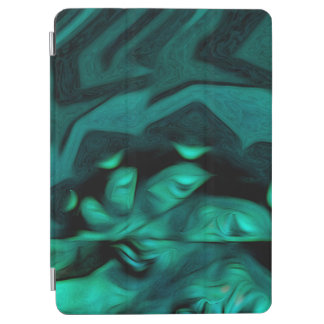 Abstract Pattern Green iPad Air Cover
