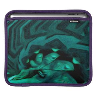 Abstract Pattern Green iPad Sleeve