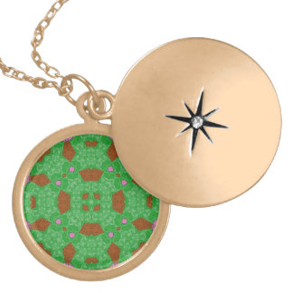 Abstract Pattern green Pendants