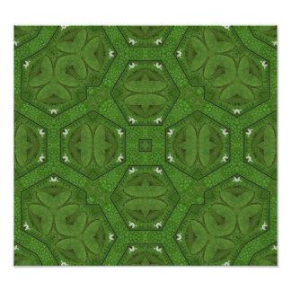 Abstract Pattern Green Photo Art