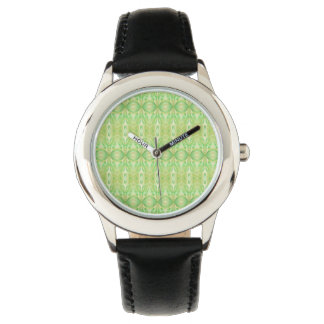 ABSTRACT PATTERN GREEN Watch