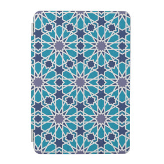Abstract Pattern In Blue And Grey iPad Mini Cover