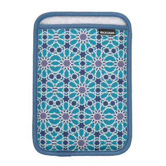 Abstract Pattern In Blue And Grey iPad Mini Sleeve