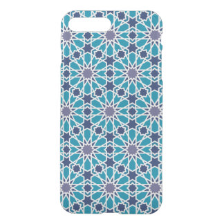 Abstract Pattern In Blue And Grey iPhone 8 Plus/7 Plus Case