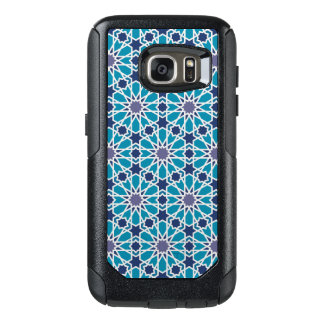 Abstract Pattern In Blue And Grey OtterBox Samsung Galaxy S7 Case