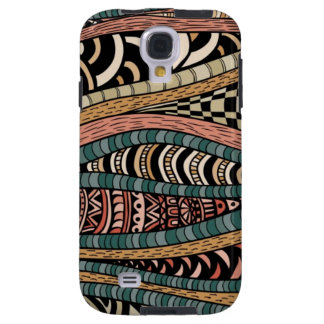 Abstract pattern in ethnic style galaxy s4 case