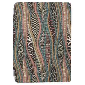Abstract pattern in ethnic style iPad air cover