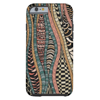Abstract pattern in ethnic style tough iPhone 6 case