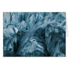 Abstract Pattern in Glacier | Iceland Card