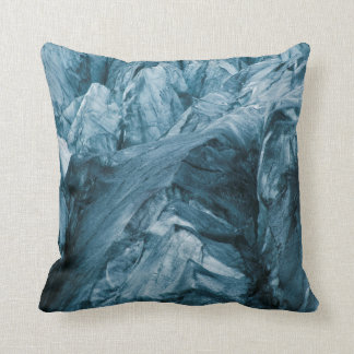 Abstract Pattern in Glacier | Iceland Cushion