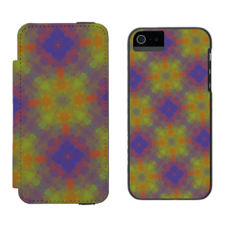 Abstract pattern incipio watson™ iPhone 5 wallet case