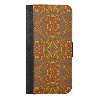 Abstract PAttern iPhone 6/6s Plus Wallet Case