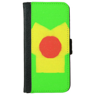 Abstract pattern iPhone 6 wallet case