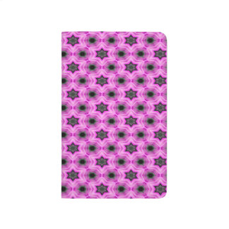 Abstract Pattern Lilac And Dark Gray Background Journal