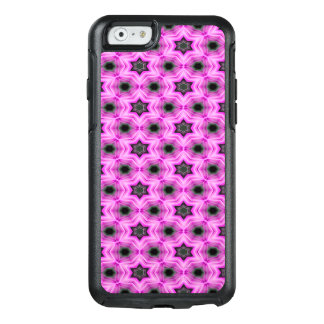 Abstract Pattern Lilac And Dark Gray Background OtterBox iPhone 6/6s Case