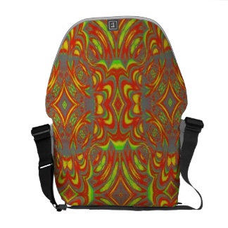 Abstract Pattern Courier Bags