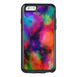Abstract Pattern Multi Color Background OtterBox iPhone 6/6s Case