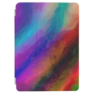Abstract Pattern Multi Colors Bright iPad Air Cover