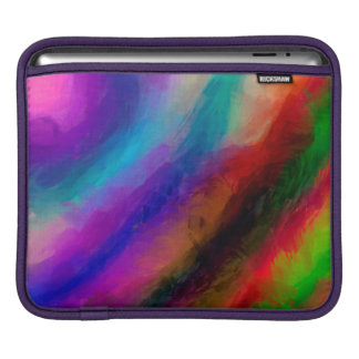 Abstract Pattern Multi Colors Bright iPad Sleeves