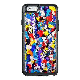 Abstract Pattern Multicolor Colorful Paint Dab OtterBox iPhone 6/6s Case