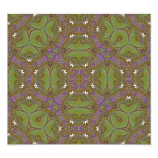 Abstract Pattern multicolored. Photo Art
