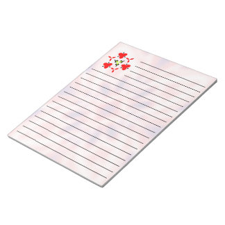 Abstract pattern notepad