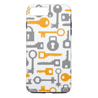 Abstract pattern objects iPhone 7 plus case