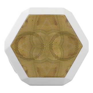 Abstract pattern of wood white boombot rex bluetooth speaker