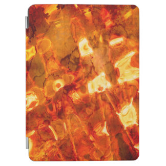 Abstract Pattern Orange Light Effect iPad Air Cover