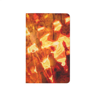 Abstract Pattern Orange Light Effect Journal