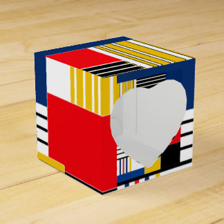 Abstract pattern . Patchwork . Favour Box