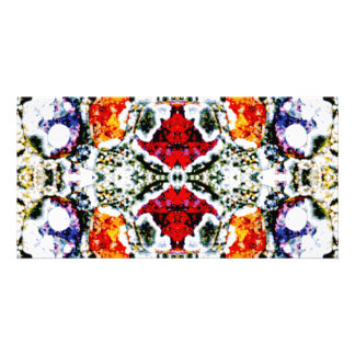 Abstract Pattern. Personalized Photo Card
