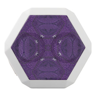 Abstract Pattern  purple White Boombot Rex Bluetooth Speaker
