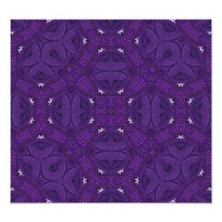 Abstract Pattern Purple Art Photo