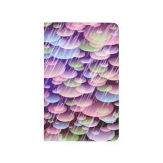Abstract Pattern Purple Rain Clouds Journal