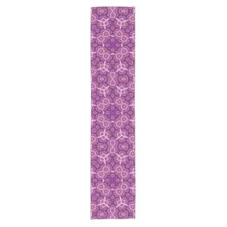 Abstract Pattern purple Short Table Runner