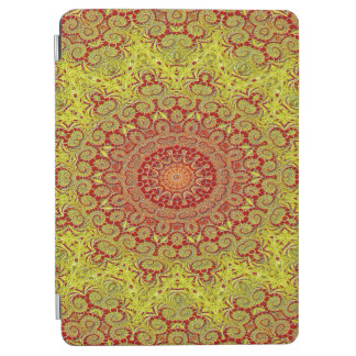 Abstract Pattern Red And Yellow Mosaic Tile iPad Air Cover