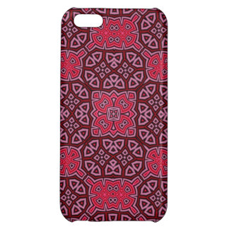Abstract Pattern red iPhone 5C Covers