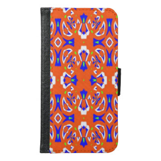 Abstract pattern samsung galaxy s6 wallet case