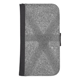 Abstract pattern samsung s4 wallet case
