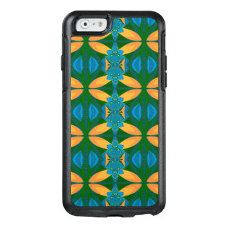 Abstract Pattern Seamless Blue Brown And Green OtterBox iPhone 6/6s Case