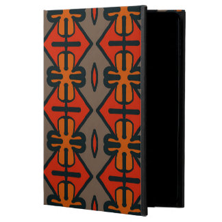 Abstract Pattern Seamless Gray And Orange Powis iPad Air 2 Case