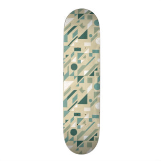 Abstract pattern skate board
