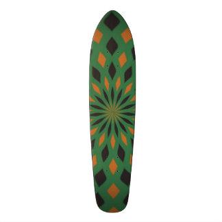 Abstract pattern 18.1 cm old school skateboard deck