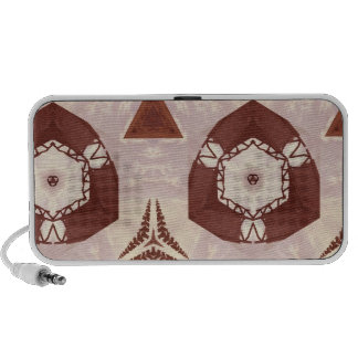 Abstract Pattern Travelling Speaker