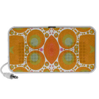 Abstract Pattern Mini Speakers
